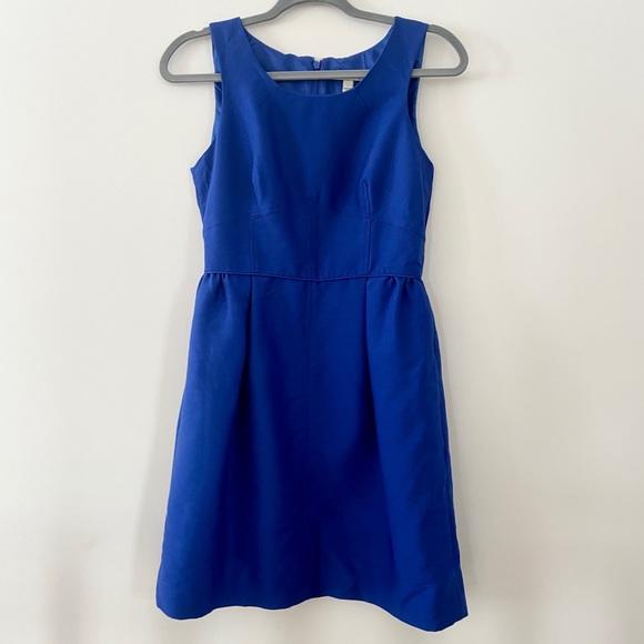 J Crew Cobalt Blue Dress Sz 4